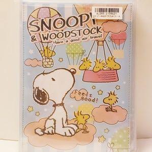 Snoopy big folding mirror SNOOPY character mirror